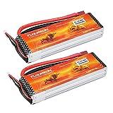 Best Battery For Note 3s - FLOUREON 2Packs 3S 11.1V 3000mAh 30C Lipo Battery Review