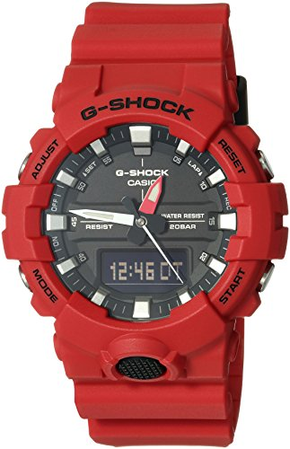 Casio G-Shock Men's GA-800 Red One Size