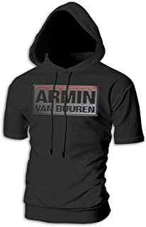 Man Armin Van Buuren Particular Drawstring Short Sleeve Sweatshirt