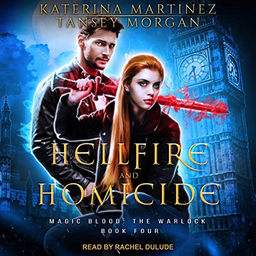 Hellfire and Homicide audiobook cover art