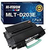 HI-Vision Compatible MLT-D203E Extra High Yield Monochrome Laser Toner Cartridge 203E D203E Replacement for Samsung MLTD203E SL-M3820DW SL-M3870FW SL-M4020ND SL-M4070FR Printer (Black, 1-Pack)