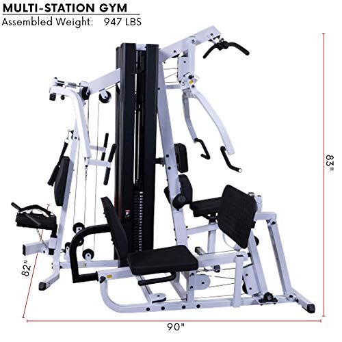 Product Image 6: Body-Solid EXM3000LPS Multi-Station Selectorized Gym for Light Commercial and Home Gym