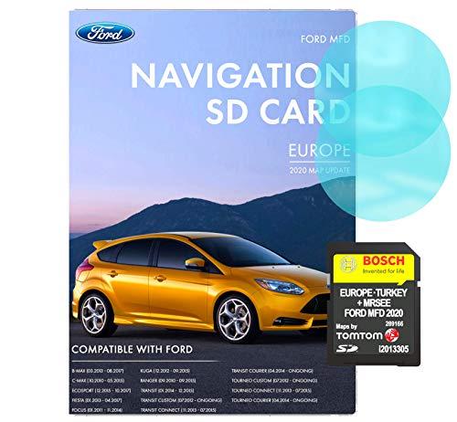 Ford MFD V10 Navigations-SD-Karte | Letztes Update 2020 | Ford MFD Navi Karte für Europa