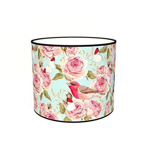 Abat-jours 7111305944821 Imprimé Henriette Lampadaire, Tissus/PVC, Multicolore