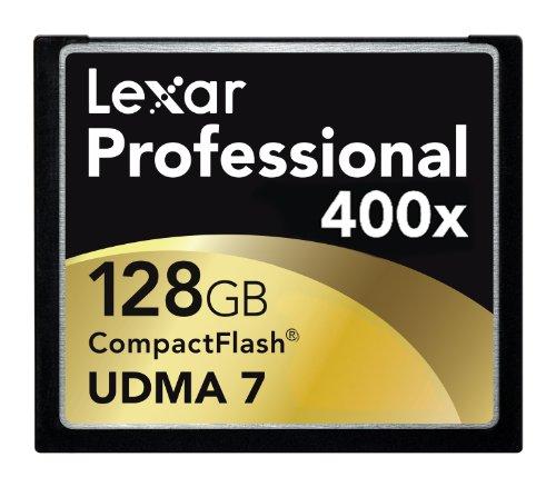 Lexar 28GB Professional 400x - Memoria Compact Flash de 128 GB, Negro