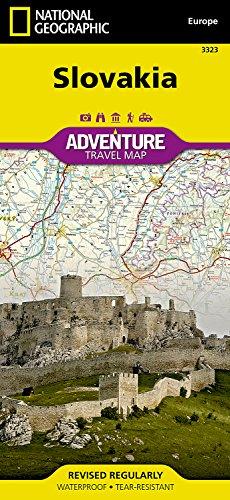 Slovakia (National Geographic Adventure Map)