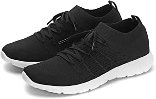 EvinTer Women's Running Shoes Super Lightweight Air-Permeable Mesh Sports Shoes Lazy Pedal Leisure Shoes