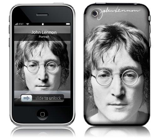MusicSkins MS-JL30001 Schutzfolie für iPhone 2G / 3G / 3GS, Motiv John Lennon