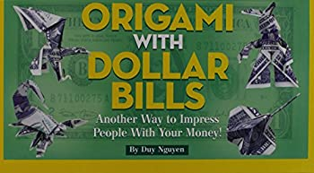 Hardcover Origami with Dollar Bills Book