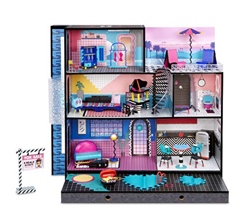 LOL-Surprise-OMG-House--Real-Wood-Doll-House-with-85-Surprises