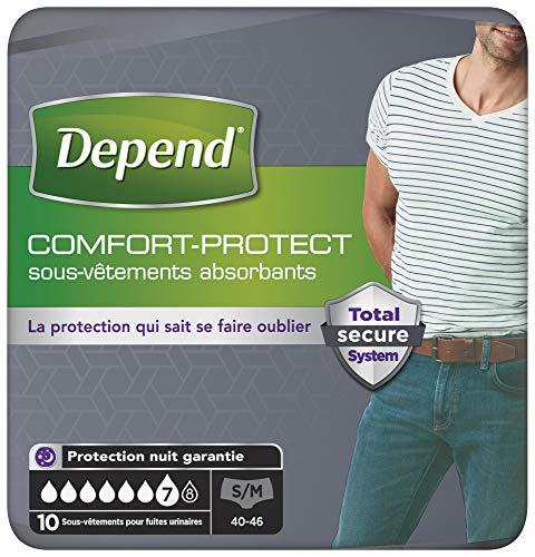 Depend Comfort-Protect Sous-Vêtements Homme (7...