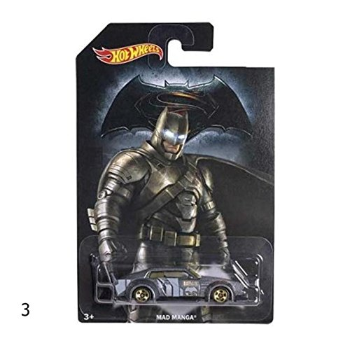 Mattel Hot Wheels djl47 – Batman Superman vs. la de Cast Assortiment