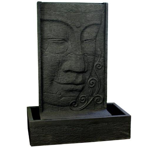 Wuona Objects Großer Buddha Brunnen 137 cm Stein Balinesisches Wasserspiel