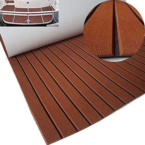 yuanjiasheng New Design EVA Faux Teak Decking Sheet For Boat Yacht Non-Slip Marine Flooring Mat 94.5
