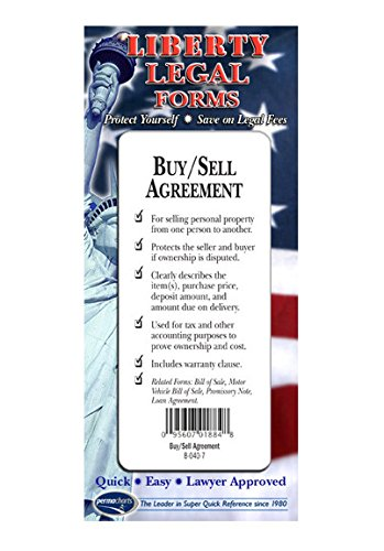 Buy/Sell Agreement - USA - Do-it-yourself Legal Forms by Permacharts