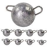 Croch Juego de 25 bolas de goma para cambio de pesca de 4-18 g (#10)
