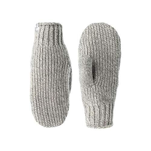 Johaug Knitted Rib Mitten Women - greym