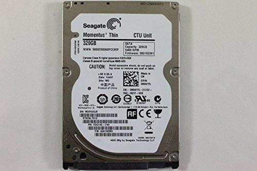 Dell M4VY5 ST320LT012 2.5' SATA Thin 320GB 5400 Seagate Laptop Hard Drive Latitude E6420