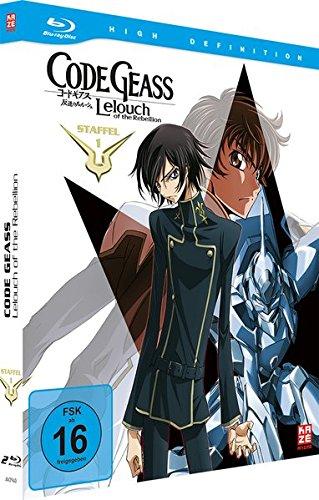 Code Geass: Lelouch of the Rebellion - Staffel 1 - Gesamtausgabe - [Blu-ray] - Mediabook