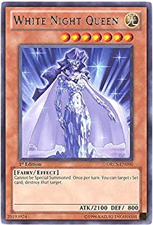 Yu-Gi-Oh! - White Night Queen (ORCS-EN090) - Order of Chaos - Unlimited Edition - Rare