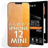 Alogy Schutzfolie für Panzerglas für iPhone 12 mini 5.4, Frei von Kratzern, 9H Festigkeit, HD Bildschirmschutzfolie, 0.33mm Ultra-klar, Ultrawiderstandsfähig