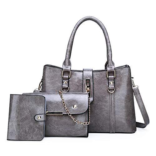 Yidajiu dames handtas nieuwe handtassen vrouwen schoudertassen voor vrouwen tas 3-delige set portefeuille