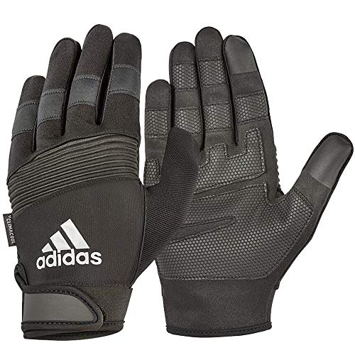 adidas Unisex-Adult Full Finger Performance Handschuhe, Grau, L