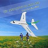 Mobiliarbus RC Racing Avion FX-737 480mm Wing-span Main Lancer Planeur Aile Fixe Aéronefs en Plein Air DIY pour Adultes Enfants