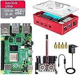 LABISTS Raspberry Pi 4 8GB Kit Incluido Tarjeta SD 128GB Precargada con Raspberry Pi OS, 2...