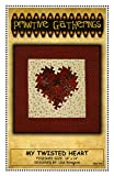 My Twisted Heart Quilt Pattern: Using the Itty Bitty Twister Tool for 14-inch Square Finished Size
