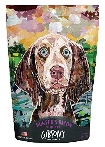 Gibsons Hunter's Bacon with Duck - Human Grade USA Soft Jerky Dog Treats, 3 oz