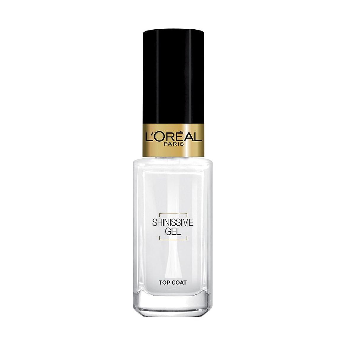 丁寧ベル人柄L 'Oréal Paris shinissime Gel Top Coat effekt gel
