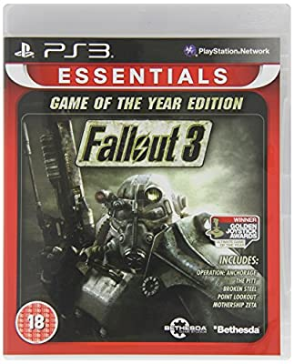 Fallout 3 Game Of The Year Essentials Sony Playstation 3 PS3 Game