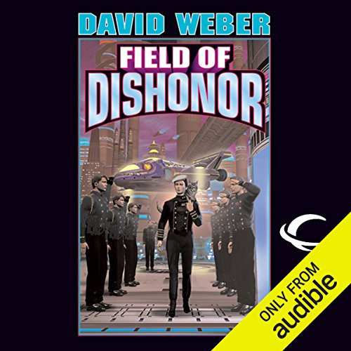 Field of Dishonor     Honor Harrington, Book 4              Written by:                                                                                                                                 David Weber                               Narrated by:                                                                                                                                 Allyson Johnson                      Length: 13 hrs and 40 mins     7 ratings     Overall 4.7