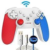 Momen Switch Pro Controller für Nintendo, Kabelloser Bluetooth Switch Controller,Wireless Gamepad Joystick mit Dual Shock Gaming und Nintendo Switch Gyro Axis Switch Zubehör für Nintendo