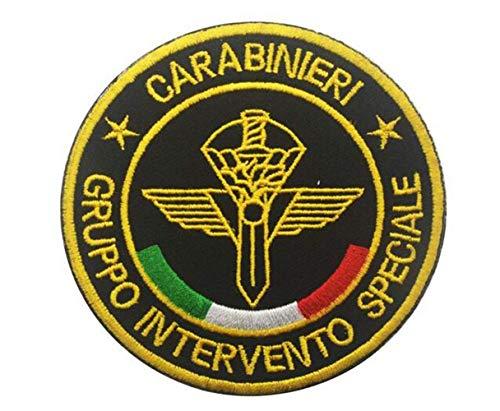Ohrong - Toppa Tattica Ricamata con Scritta Special Forces Italiana, Gruppo Intervento Speciale Carabinieri