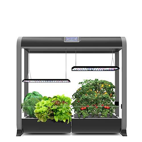 AeroGarden Farm 24Plus, w/Salad Bar Seed Kit, Black