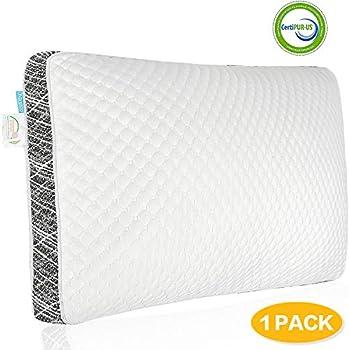 ONIREACO Queen Size Cooling Shredded Gel Memory Foam Pillow