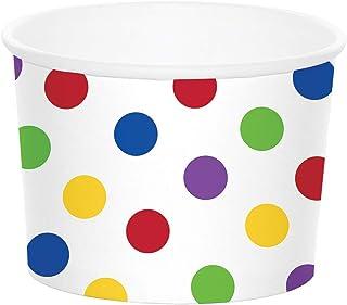 كوب حلوى 329640 من كريتيف كونفيرتنج، نقاط متعددة الألوان، 21.59 سم