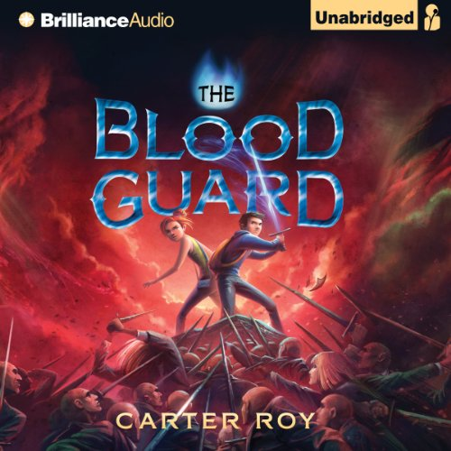 The Blood Guard audiobook cover art