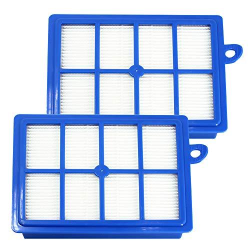Lot de 2 Filtre Hepa Remplacement pour Aspirateur Electrolux PHILIPS