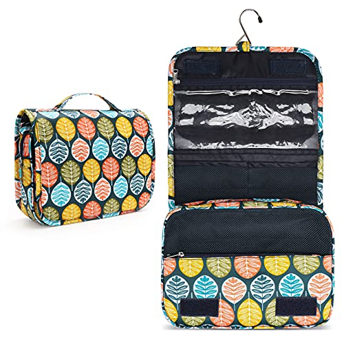 Toiletry Bag, Travel Toiletries Bags, Women Travel Makeup Organizer with Large Capacity, Waterproof Shower bag with Haning Hook, Perfect for Girls Family Trip