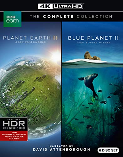 Planet Earth II/ Blue Planet II (4KUHD) [Blu-ray]