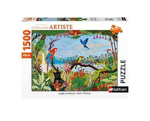 Nathan 4005556877997 - Puzzle (1500 Piezas), diseño de Thomas