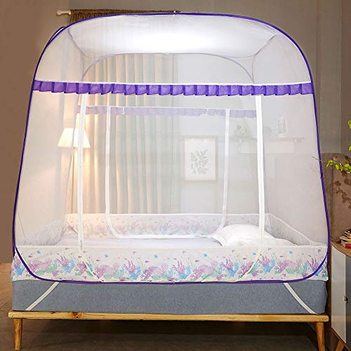 XEHbaby New Portable Folding Mosquito Net Tent Freestand Bed 1/2 Openings,150200170cm
