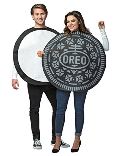 Oreo costume for couples Halloween party