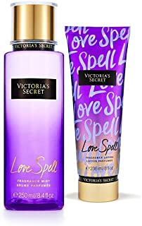 Victoria's Secret Love Spell Fragrance Mist and Body Lotion combo pack