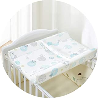 Portable Changing Mats Diaper Table Baby Care Table Newborn Massage Table (Color : B, Size : 74 * 44 * 9cm)