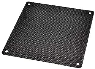 DGQ Ultra Fine Fan Filter - PVC Black Computer Fan Grills PC Cooler Fan Dustproof Case Cover Computer Mesh (120mm-10)