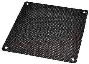 DGQ Ultra Fine Fan Filter - PVC Black Computer Fan Grills PC Cooler Fan Dustproof Case Cover Computer Mesh (120mm-10)